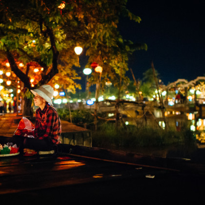 Candle Seller - Hoi An