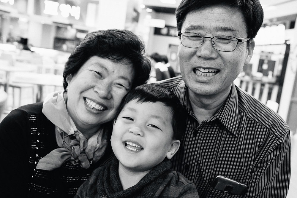 Family Photography in Korea