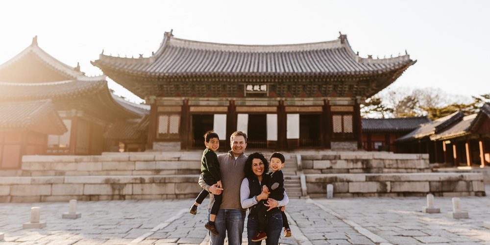 Sharp Family Photographer - Seoul