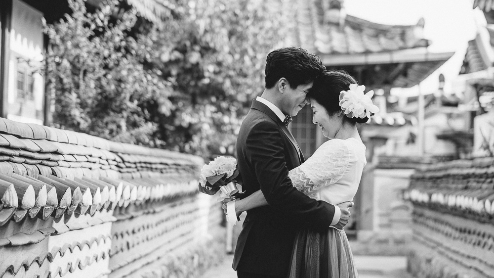 Pre-wedding Photographer, Jeonju, Korea