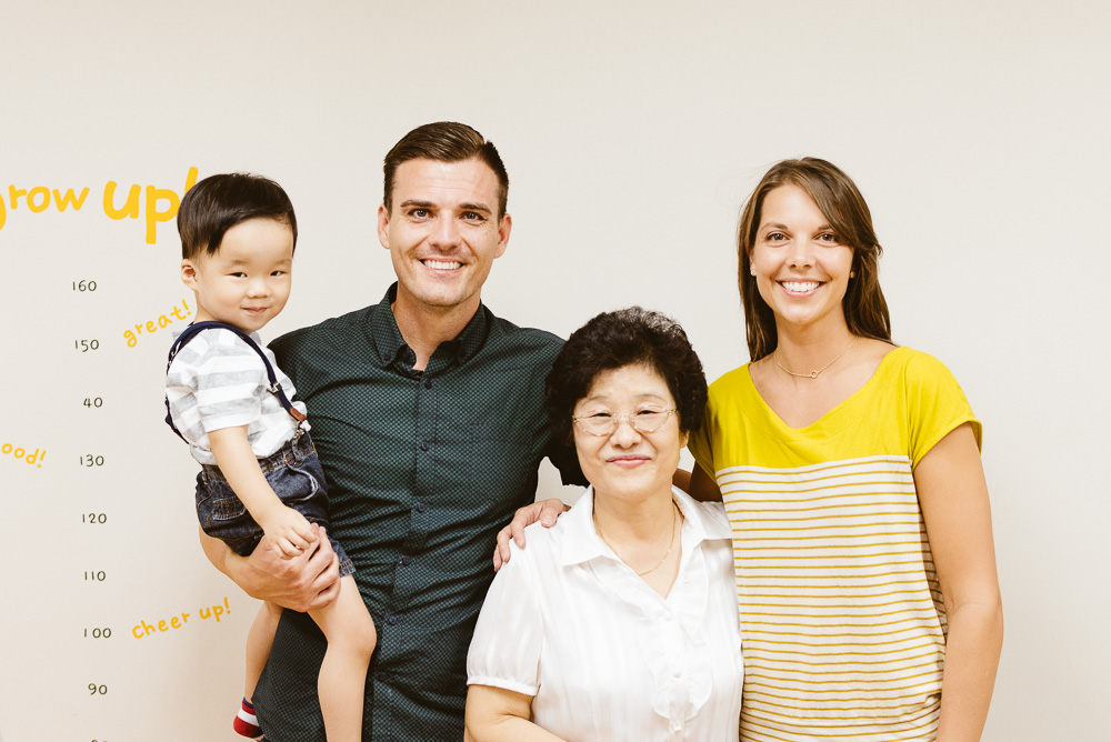 Chandler's Family Photography in Seoul