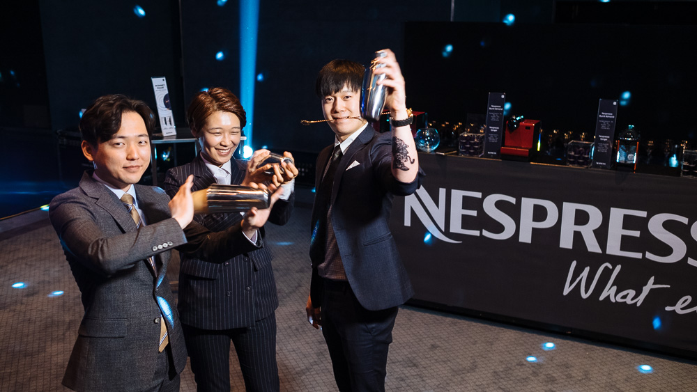 Seoul, Korea Event Photographer Nespresso