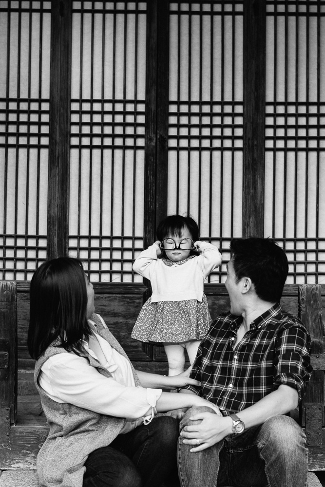 Yoon Family Photography Session - Seoul Korea