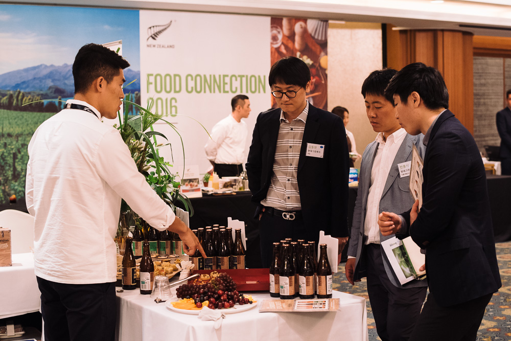 Seoul Corporate Event Photographer - New Zealand Food connect