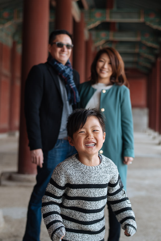 Tsong Family - Seoul, Korea Photographer