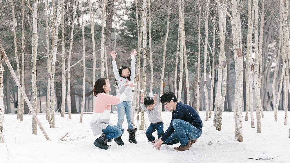 Family Photography Nami Island