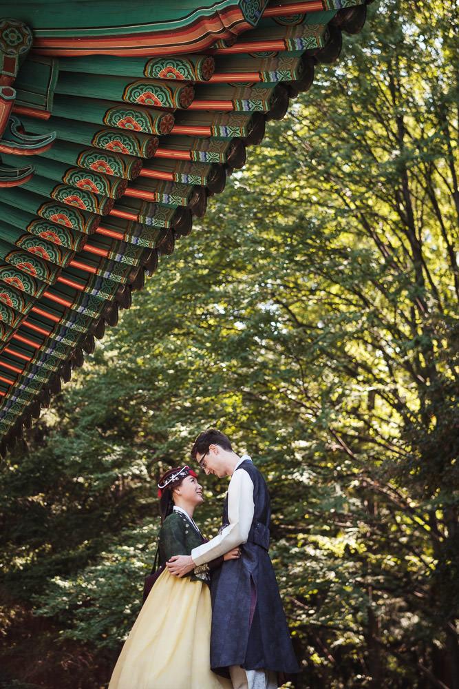 David and Sojeong's Traditional Wedding Photography