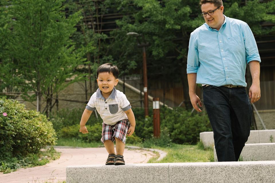 Playing with Dad - Ezra's Adoption