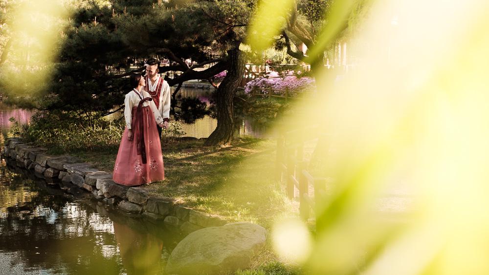 Korea Hanbok Pre-Wedding