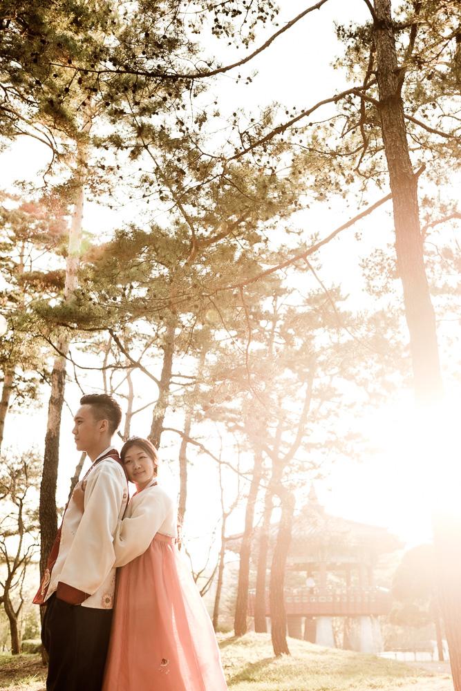 Hanbok Pre-wedding Photography