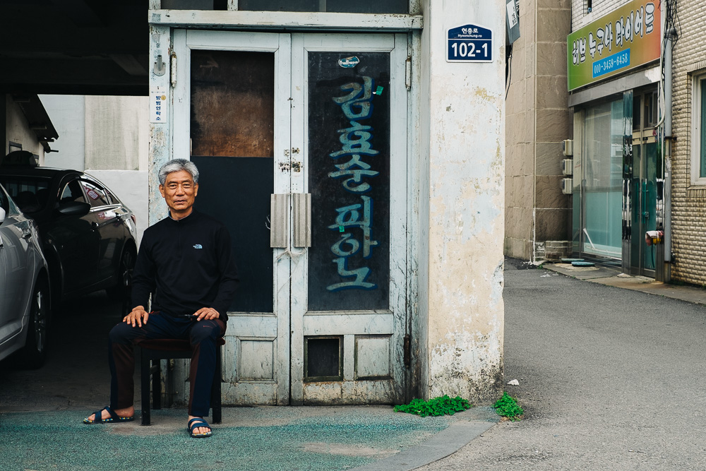 Taxi Driver - Korea Photographer