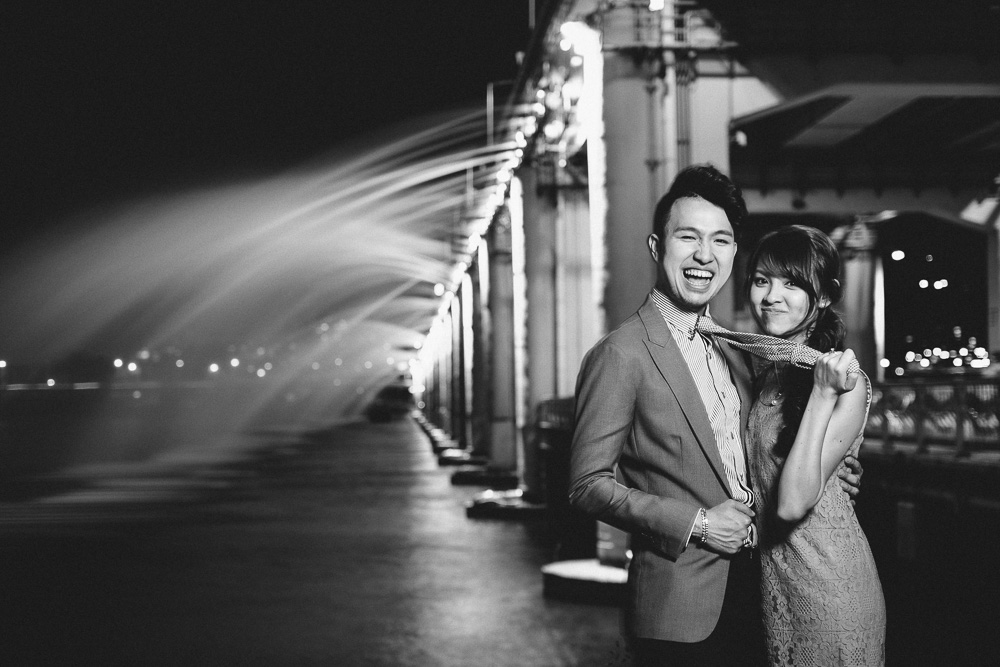 Pre-Wedding Photography in Korea - Zack and Ting En