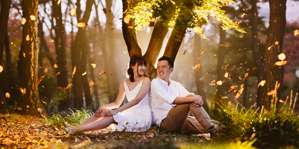 Korea Pre Wedding Photography