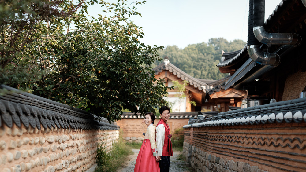 Pre-wedding Photography - Jeonju, Korea