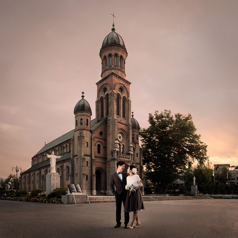 Pre-wedding Photography, Jeonju, Korea