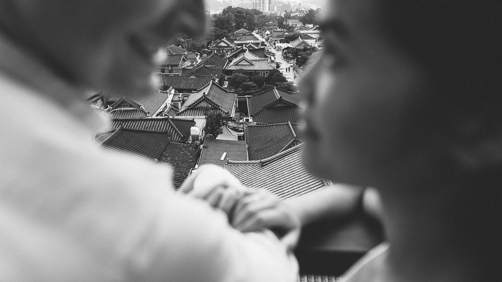 Jeonju Korea Pre-Wedding Photographer - Kim and Chris