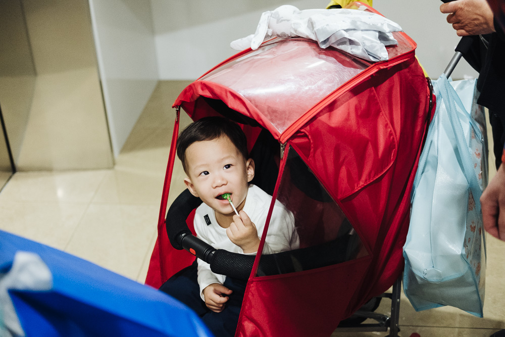 Family Photographer in Seoul - Conner's Custody Session