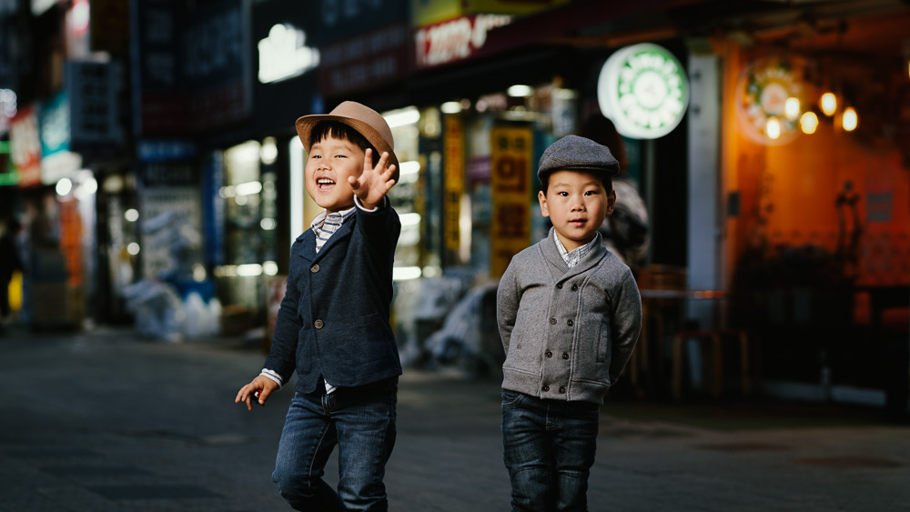 Seoul Family Portrait Photographer - Orth