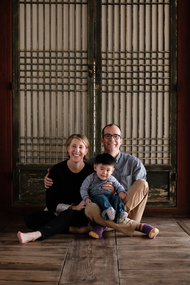 Seoul Family Portrait Photographer - The Porters