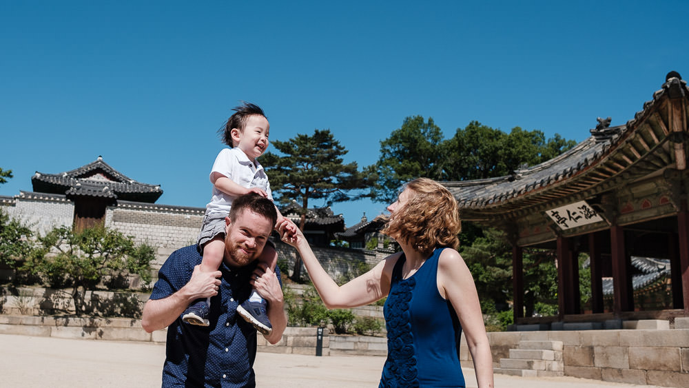 Family Photographer in Korea