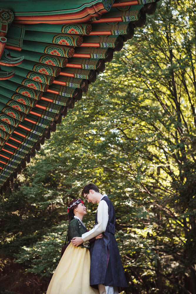 David and Sojeong's Traditional Wedding Photography
