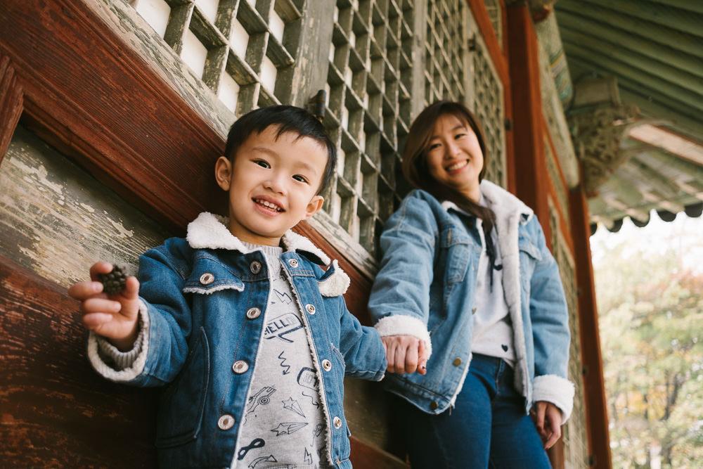 Family Photographer in Seoul - Elyzabeth and Jepsen