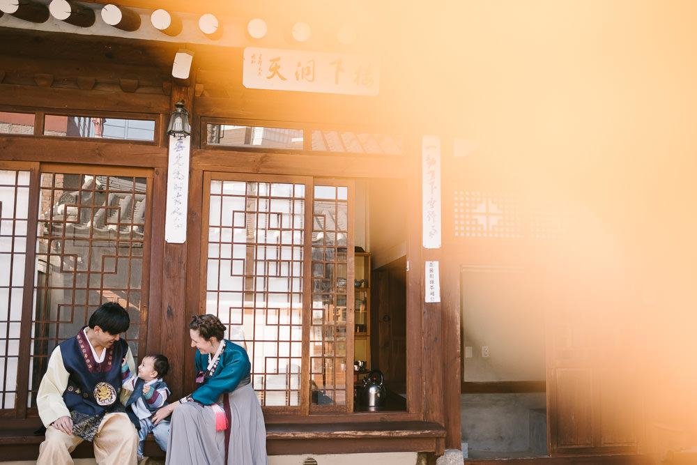 Family Portraits in Seoul, Milo Kim