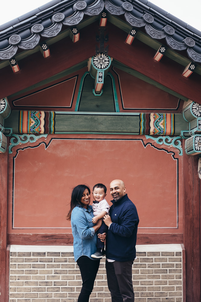 Family Photo Shoot in Seoul - Changdeokgung