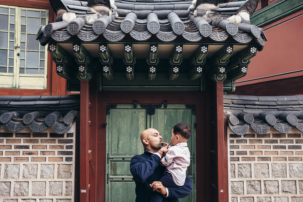 Family Portraits at Changdeokgung
