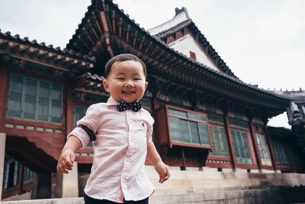 Children's Portraits at Changdeokgung