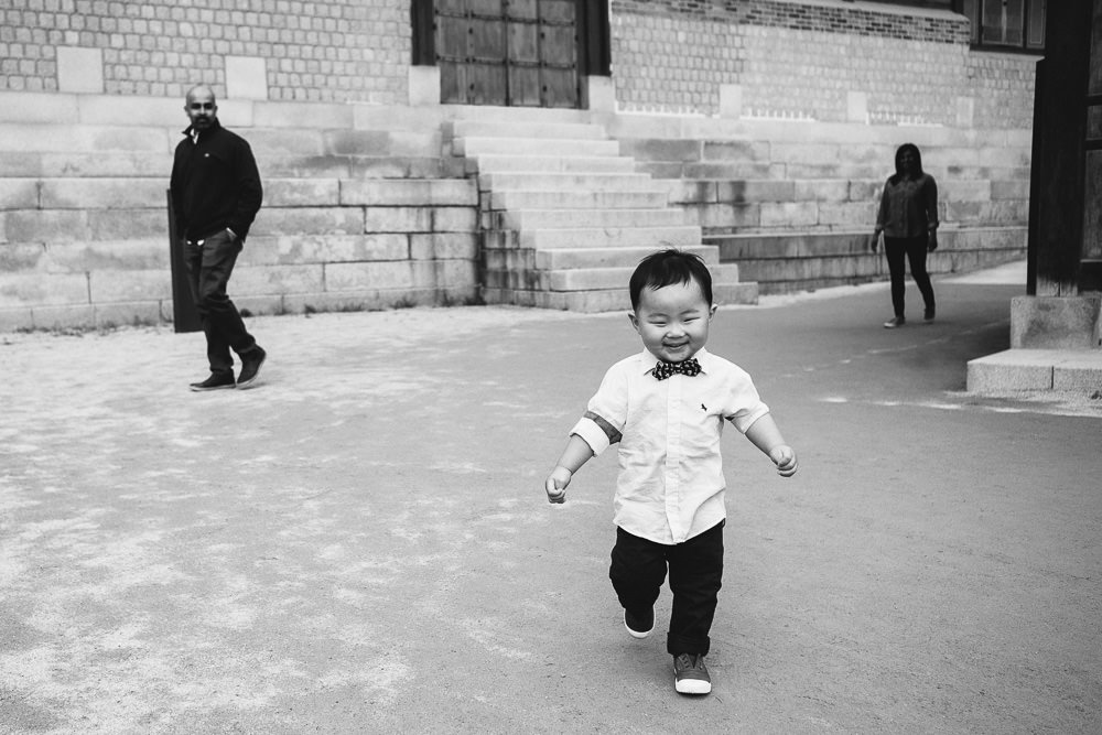 Family Photo Shoot at Seoul Palace