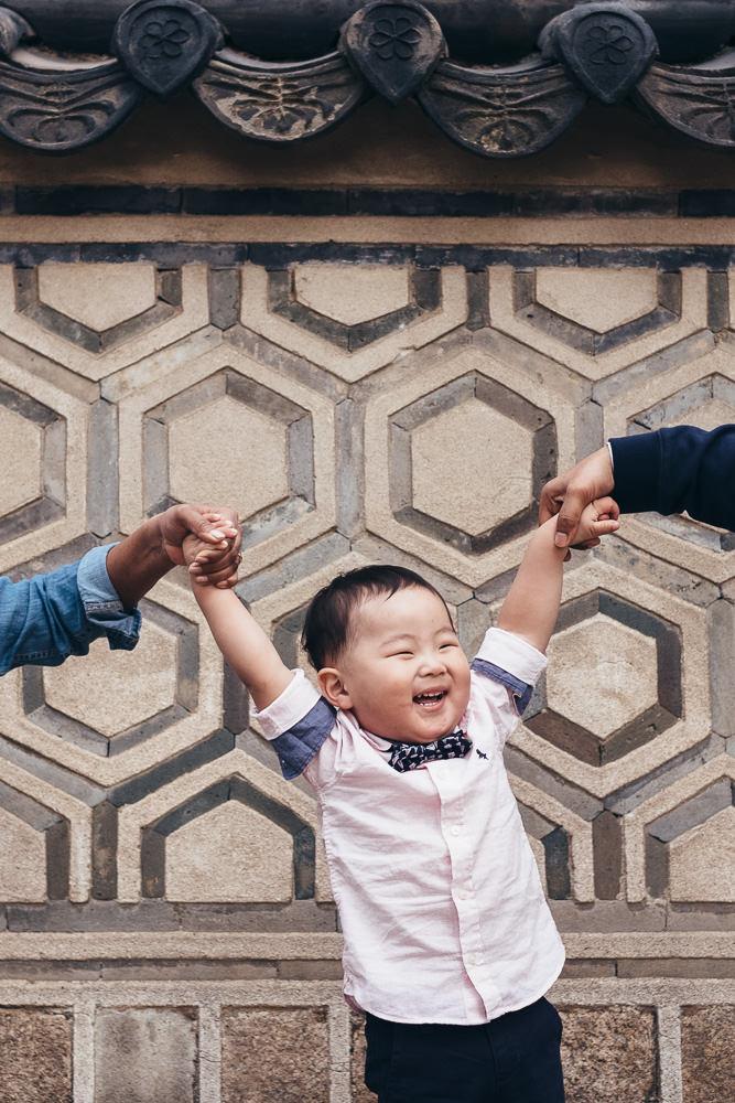 Family Shoot in Seoul