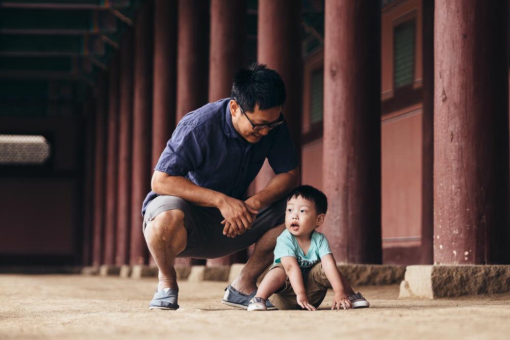 Seoul Korea Family Portraits
