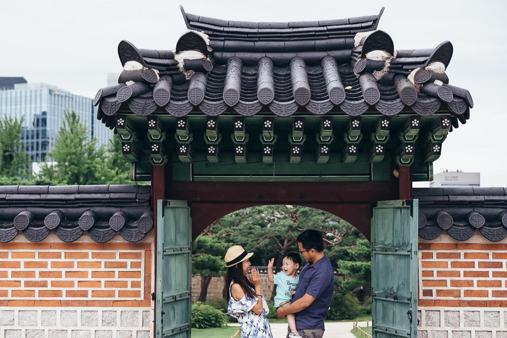 Gyeongbokgung Family Photography Seoul Korea