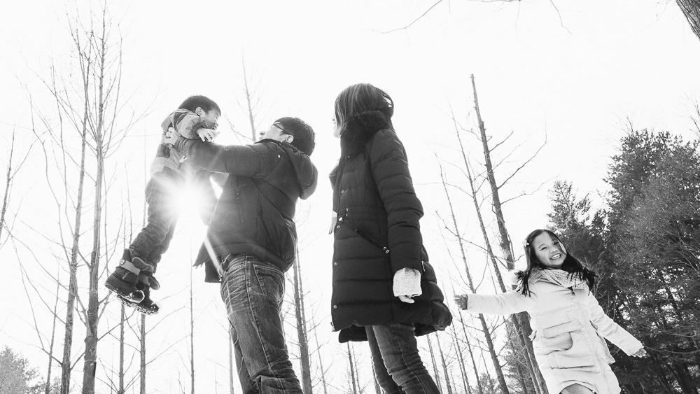 Nami Island Family Photography
