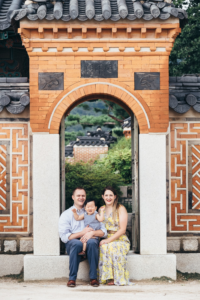 Family Photographer Seoul Korea Gyeongbokgung