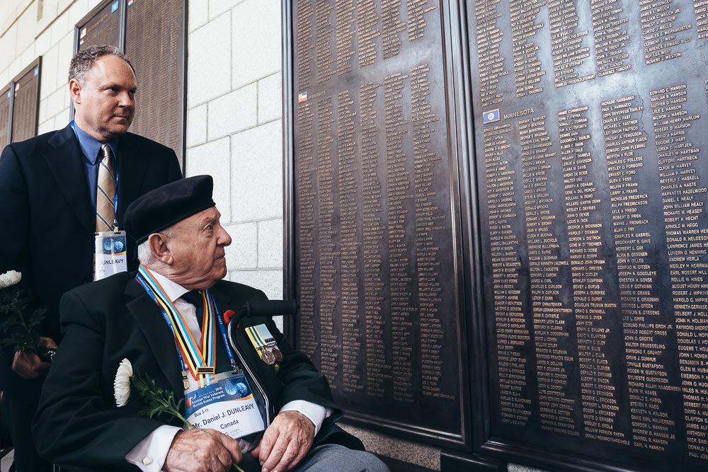 Event Photographer Korea - War Memorial Wall of the Fallen