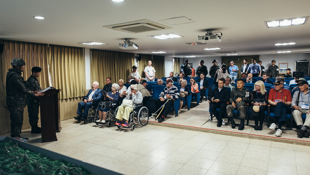 Korea Event Photographer - Canadian Veterans