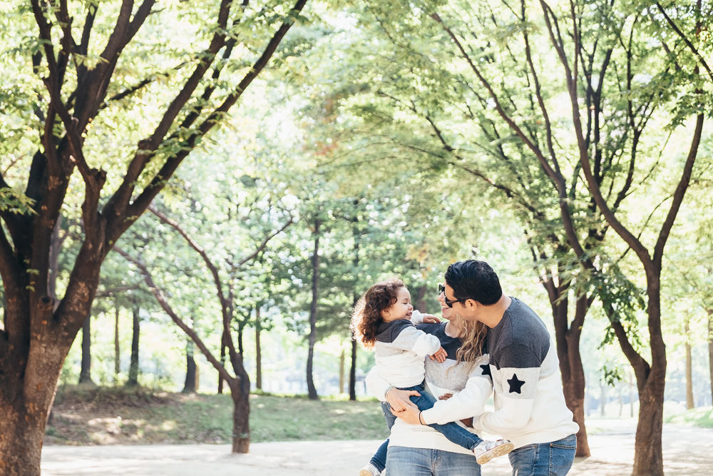 Ataalla Family - Family Photography in Seoul Forest