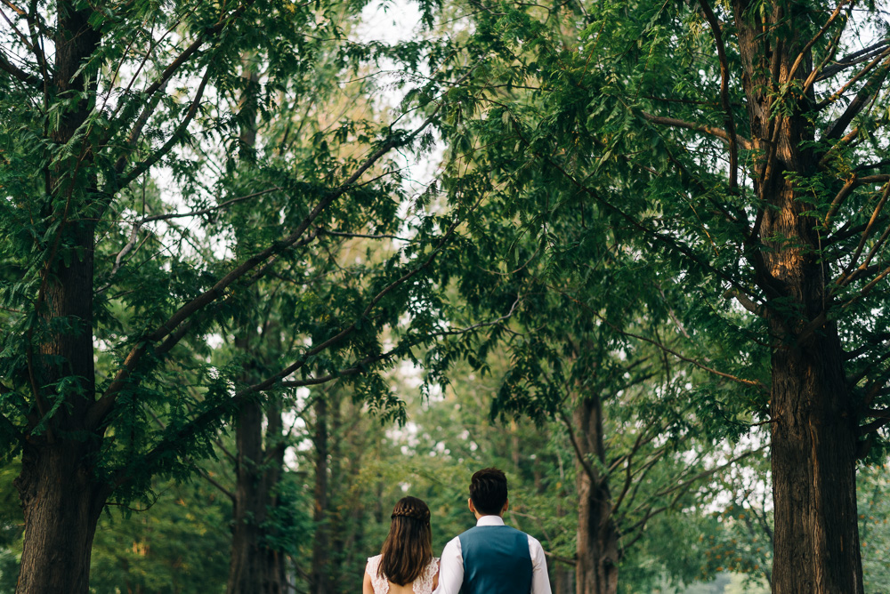 Jaz & Jun Pre-wedding Photography - Seoul Forest
