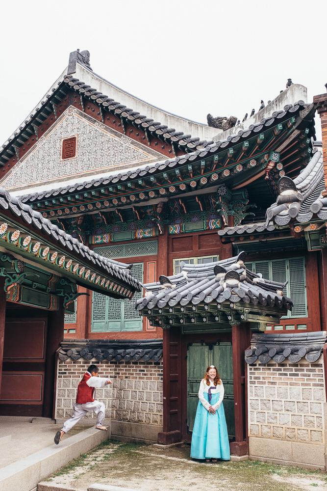 Seoul Family Photographer Changdeokgung