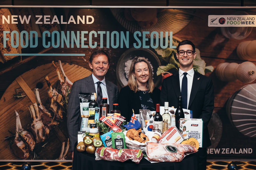 New Zealand Food Connection - Seoul Event Photographer