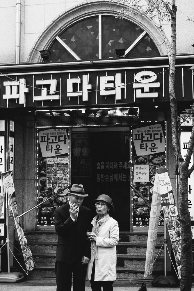 Seoul Photographer - Jongno Street