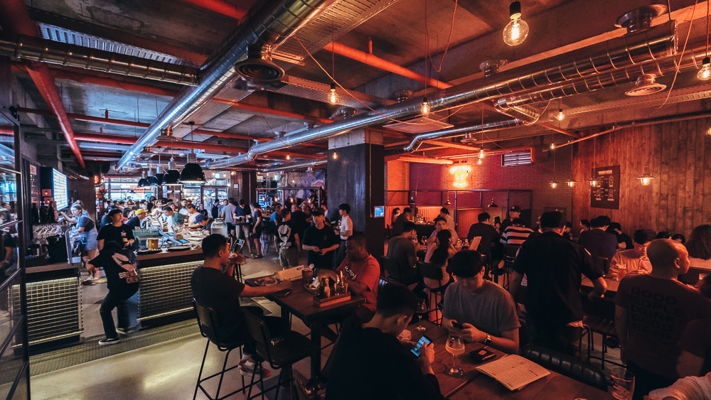 Commercial Photographer in Seoul - Brewdog Itaewon Outpost Opening Party