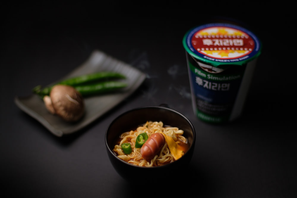 Seoul Food Photographer Fujifilm Instant Noodles